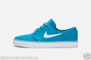 Nike ZOOM STEFAN JANOSKI Neon Turquoise White Discounted (224) Men's Shoes