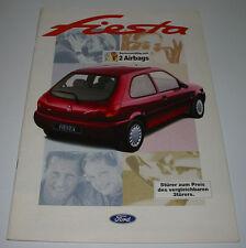 Autoprospekt Auto Prospekt Ford Fiesta JAS / JBS + Preisliste Stand Januar 1997!
