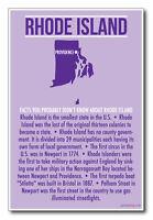 Rhode Island - U.s Travel Poster