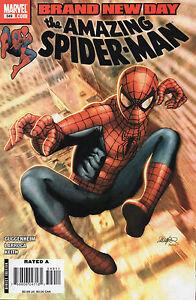 Amazing Spider- Man #549 (NM)`08 Guggenheim/ Larroca