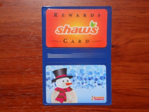10 Business Card Case Credit Debit Gift ID Holder 2 Pocket Thin Vinyl Wallet Lot