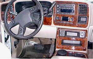 Gmc Sierra Sle Slt Interior Burl Wood Dash Trim Kit Set 2003 03 2004 2005 2006 Ebay