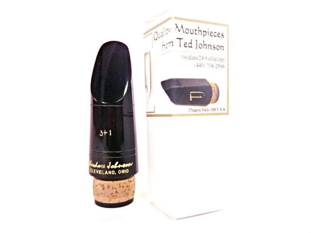 Theodore Ted Johnson TJ3+ Zinner Ebonite Bb Clarinet Mouthpiece BRAND NEW