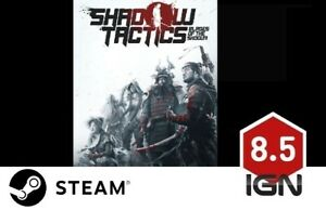 Shadow-Tactics-Blades-of-the-Shogun-PC-Steam-Download-Key-FAST-DELIVERY