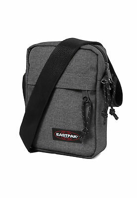 Borsa Eastpak The One Ek045 Grigi 77h Black Denim- Morbido E Antislipore