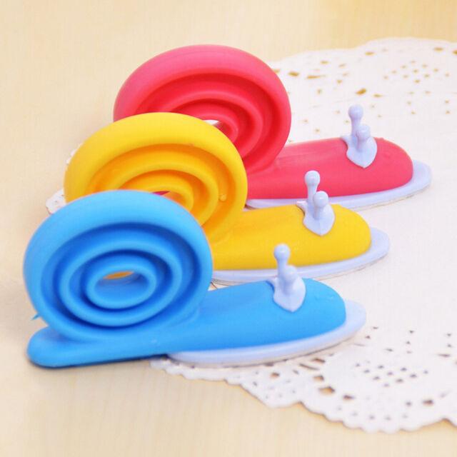 Plastic Baby Safety Door Stopper Protector Children Safe Snail Shape Door Stop W