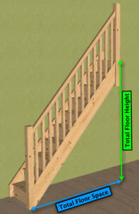 Image Is Loading Pine Gt Straight Staircase Posts Amp Balustrade