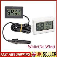 UK Mini Digital LCD Thermometer Hygrometer Humidity Temperature Meter Indoor