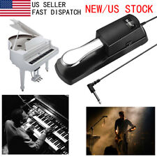 Damper Sustain Pedal Foot Switch for Yamaha Casio Electronic Piano Keyboard US