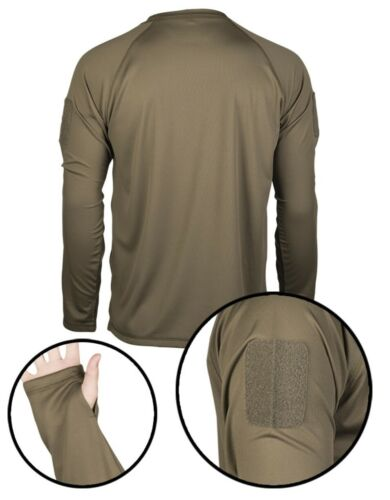 NEU Tactical QUICK DRY Langarmshirt Bundeswehr T-Shirt BW Unterhemd UBAC S-3XL