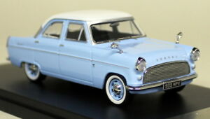 PRX-Models-1-43-Scale-PDR551-Ford-Consul-Mk2-1959-Blue-White-Diecast-Model-Car