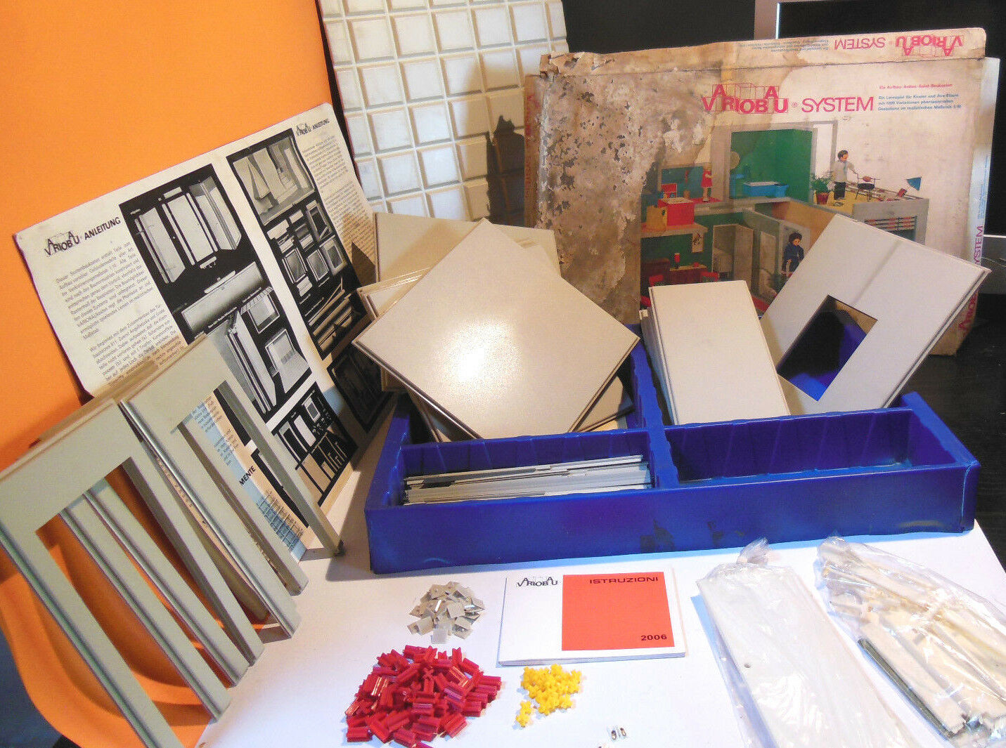 Sistema VarioBau costruzioni scala 1 10 Case prefabbricate giocattolo realistico