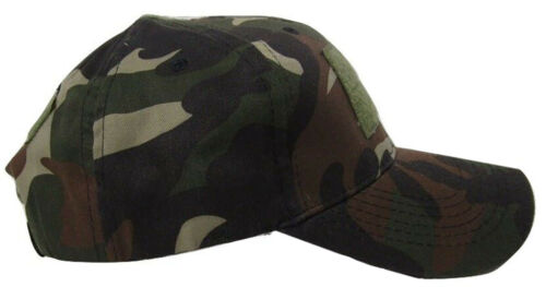 Vietnam Woodland Camo Operator Operators Cap Hat Patch adjustable strap