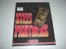 STEEL PANTHERS 1 Pc Cd Rom Original BIG BOX - NEW & SEALED - Fast Secure Post