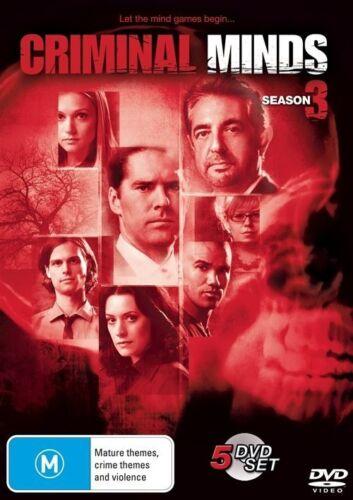 1 of 1 - Criminal Minds: Season 3 (DVD, 2009) **New**