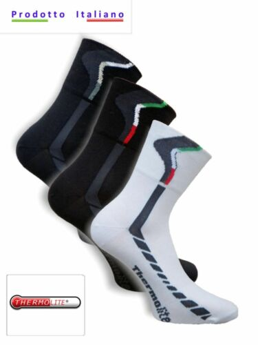 Calza ciclismo in Thermolite tg varie unisex  OFFERTA CONVENIENZA 3 PAIA