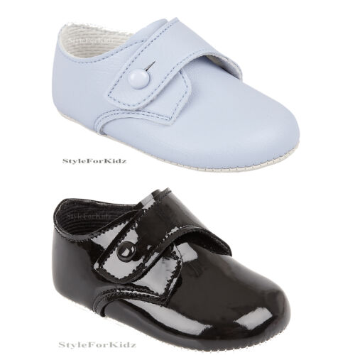 B BABY BOYS SHOES CHRISTENING WEDDING SPECIAL OCCASION BABY PRAM SHOES