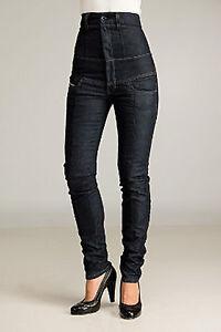 Original-DIESEL-Diesel-Jeans-Thainee-8AA-W26-L32-Dunkelblau-Baumwolle-Elastan