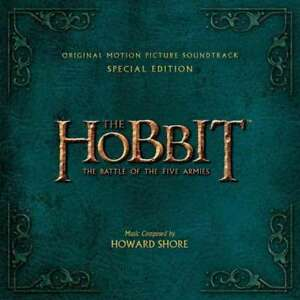 Howard-Shore-The-Hobbit-The-Battle-Of-The-Five-Armies-de-Lujo-Nuevo-CD