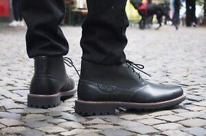 Clarks-Originals-Schuh-Montacute-Duke-black-Echtleder-Herrenschuh-Schnuerboot-neu