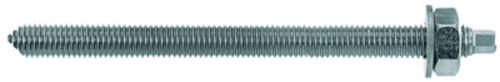 Fischer Ankerstange RG M gvz galvanisch verzinkt Stahlgüte 8.8, 10 Stk.
