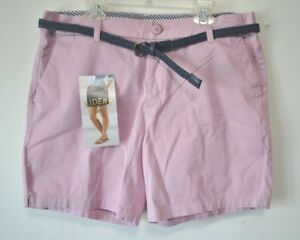 RIDERS-by-Lee-Women-039-s-Midrise-6-034-Inseam-Shorts-Sizes-6M-10-10M-18M-NWT