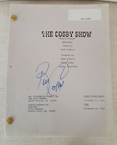 Authentic-1991-Bill-Cosby-034-Cosby-Show-034-Autographed-Script-First-Mimeo-Draft
