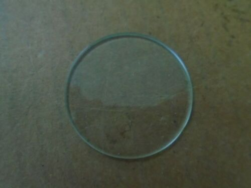 1 EA NOS GLASS LENS USED ON VARIOUS AIRCRAFT  P//N MS28105-6