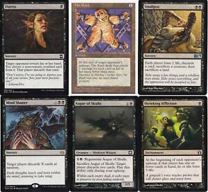 Play Ready! MTG Magic the Gathering Mono Black Devotion Control Discard Deck
