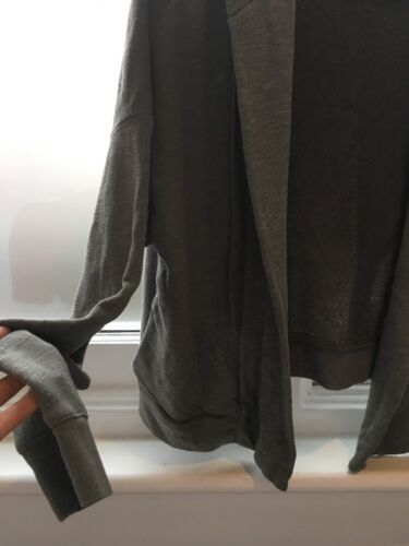 Soft Hoodie Sweatshirt Perse Hooded Open James 2 M Medium Jacket Green Cardigan XPuTilkZwO
