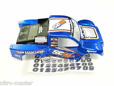 NEW TEAM ASSOCIATED SC18 Body Factory Painted BLUE 1/18th ShortCourse ASC21354