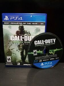 Call-Of-Duty-Modern-Warfare-Remastered-For-PlayStation-4-PS4-COD-MW
