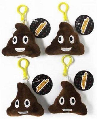 Collezione Qui Poop Emoji Plush Keyring Soft Poopy Poop Emoji Icon Keyrings Valentines Gift