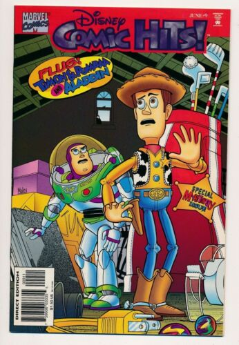 1996 Marvel Disney Comic Hits Toy Story Cover Mystery Issue #9 ~ VF+ PF228