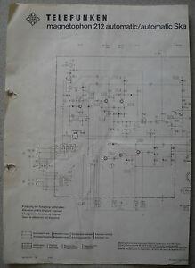 TELEFUNKEN-Magnetophon-212-automatic-automatic-Ska-Schaltplan