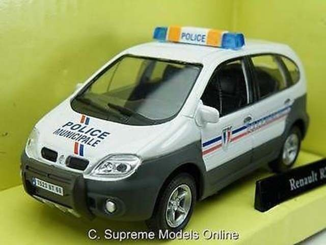 RENAULT RX4 POLICE MUNICIPALE CAR 1 43 SCALE GREY WHITE COLOUR EXAMPLE T3412Z(=)