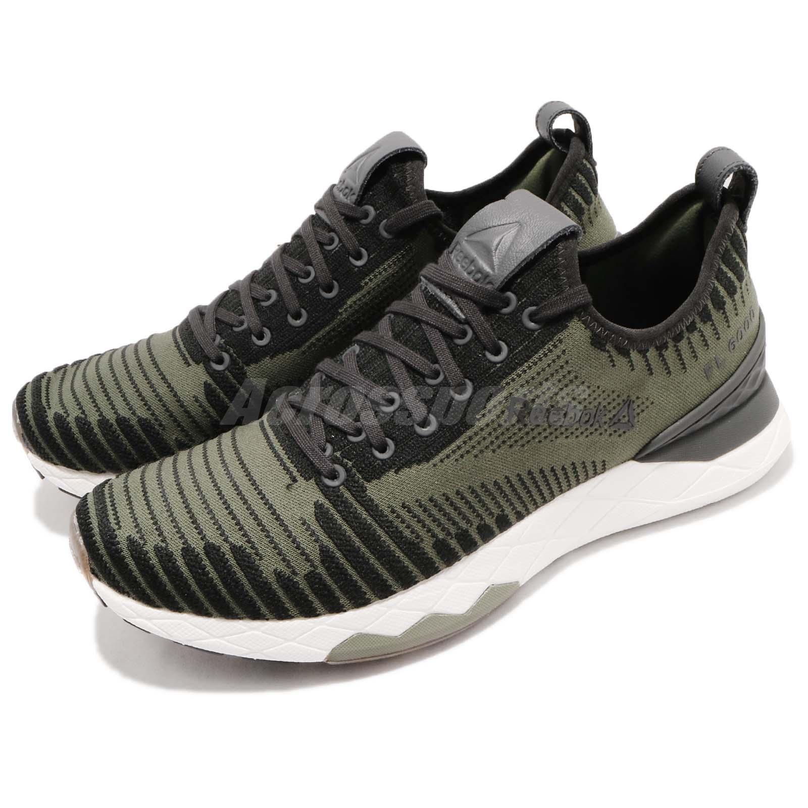 Reebok Floatride Floatride Floatride 6000 Ultraknit Hunter verde nero bianca Men Running scarpe CN2231 | Superficie facile da pulire  0e6779