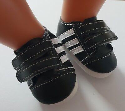 Sneaker Puppenkleidung rosa Baby Born//Sister zb Schuhe 43 cm NEU