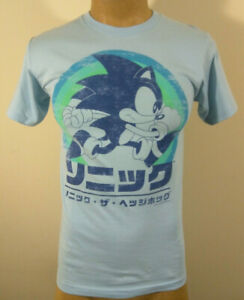 Sonic The Hedgehog Retro Japanese Women/'s T-Shirt