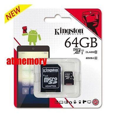 Kingston 16GB 32GB 64GB 128GB Micro SD SDHC SDXC lot UHS-I Class10 Memory Card