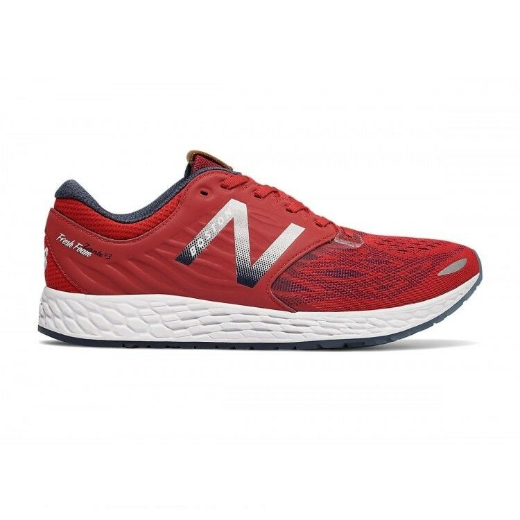 New Balance Zante v3 Ballpark Men's shoes Red Silver Navy BOSTON MZANTFW3 Sz 15