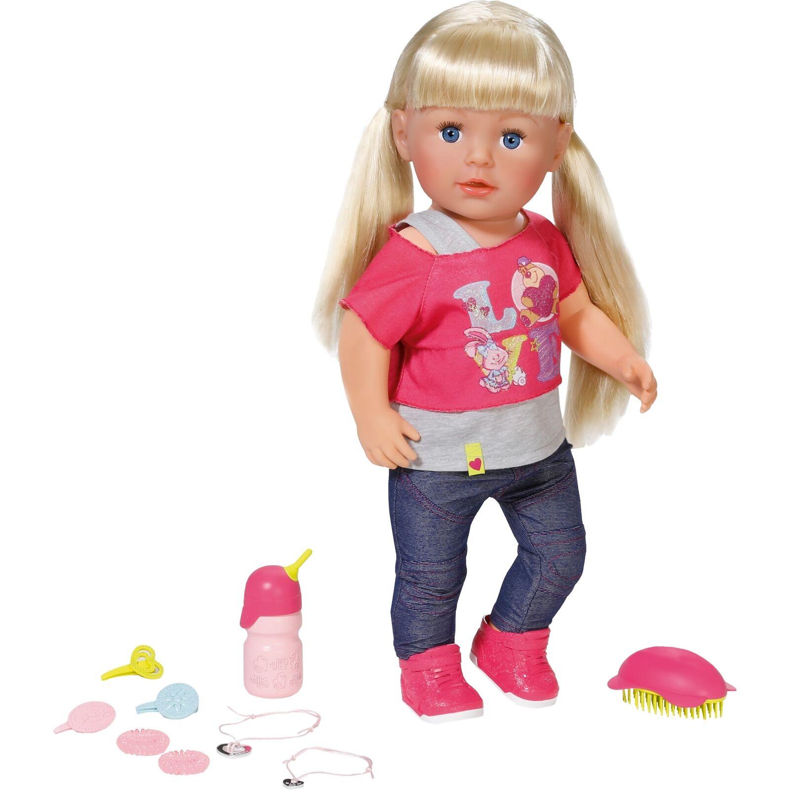 ZAPF Creation BABY born® Interactive Sister, Puppe