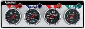 Allstar Performance ALL80114 (Kit) Gauge Panel Assembly Auto Meter Sport-Comp