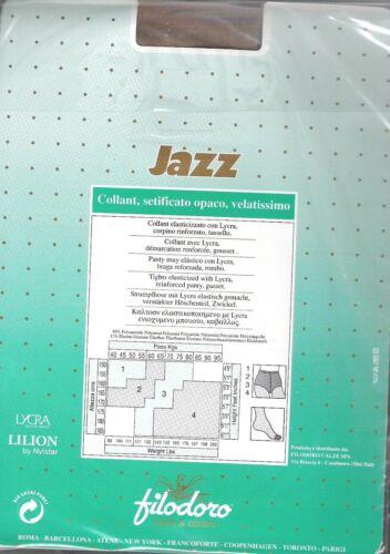 Matt L Ultra-Sheer M Italian Filodoro Jazz 15 Pantyhose XL.4 Colors S