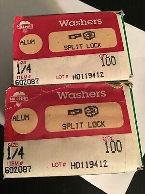 HILLMAN FASTENER 811059 1//2 SPLIT LOCK WASHER The Hillman Group