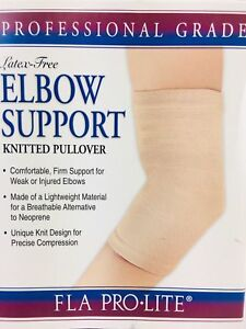 8fe528bbc7 Image is loading NEW-FLA-ProLite-Orthopedic-Elbow-Support-Knitted-Pullover-