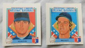 1988 Starting Lineup Talking Baseball Houston Astros Baseball Card Pick one