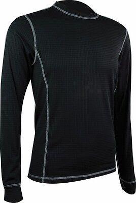 Streng Highlander Thermo 160 Mens Long Sleeved T-shirt Thermal Base Layer Dark Grey üBerlegene Leistung