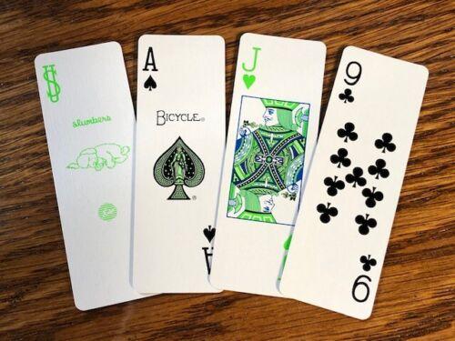 """4 DECKS Bicycle /""""Skinny/"""" Fragment Slumbers RARE Japan set playing cards"""