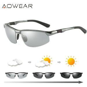 AOWEAR-HD-Men-039-s-Photochromic-Polarized-Sunglasses-Men-Polarized-Chameleon